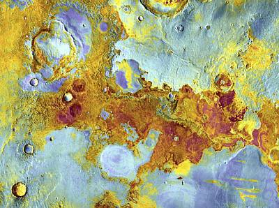 Arial View Photograph - Aerial View Of Mars by Steve Nagy