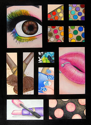 Aesthetic Perfection Print by Kayleigh Dickson