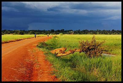African Landscape Print by Marian Barbu