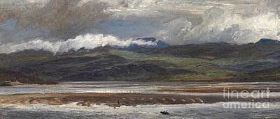 Inclement Painting - After Rain by Henry Moore