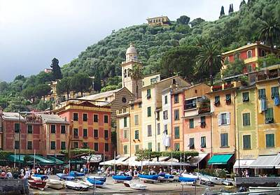 Portofino Photograph - Afternoon In Portofino by Marilyn Dunlap