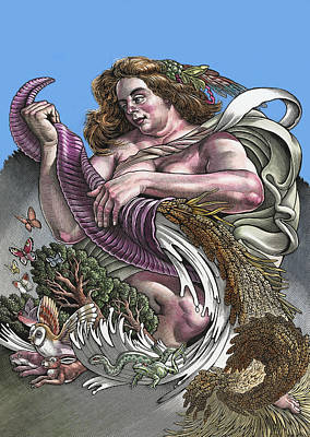 Agricultural Overproduction, Artwork Print by Bill Sanderson