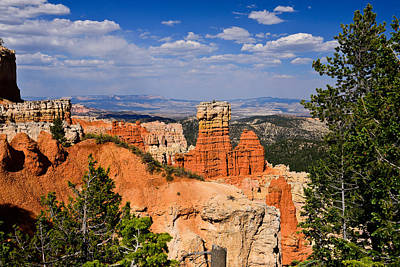 Agua Canyon Bryce Canyon National Park Print by Greg Norrell