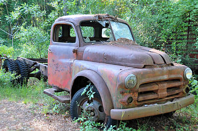 Old Trucks Photograph - Air Cooled by Jan Amiss Photography