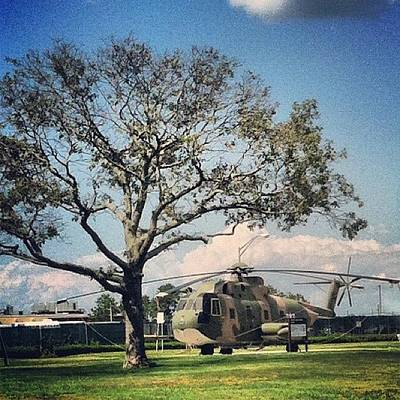 Helicopter Photograph - Air Force Chopper #helicopter by Lisa Thomas