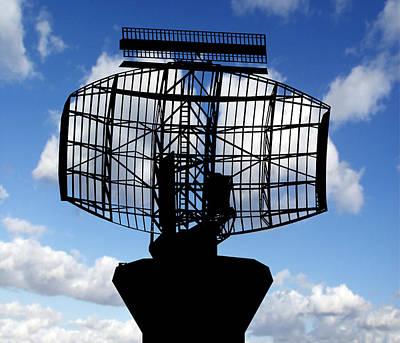 Air Traffic Control Radar Print by Victor De Schwanberg
