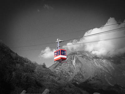 Buddhist Monks Photograph - Air Trolley by Naxart Studio