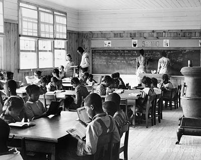 Alabama: Schoolhouse, 1939 Print by Granger