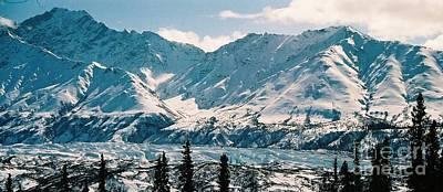 Alaska Deep Freeze Print by Judyann Matthews