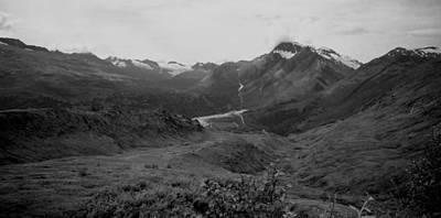Alaska Range 2 Print by Lynnette Johns