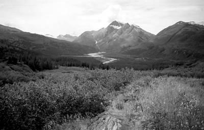 Alaska Range 3 Print by Lynnette Johns