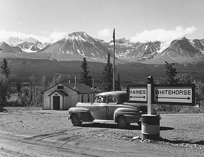 Alaska Route Print by Richard Harrington