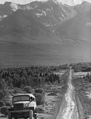 Alaskan Highway Print by Three Lions
