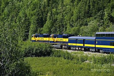 Alaskan Train Print by John Greim