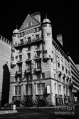 Albion House James Street Liverpool Former Offices Of The White Star Line  Print by Joe Fox