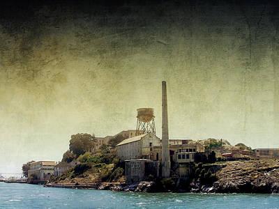 Alcatraz Digital Art - Alcatraz by Ellen Heaverlo
