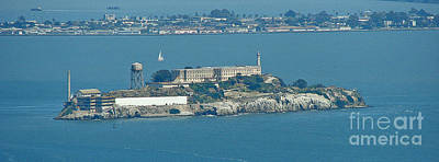 Alcatraz In April Print by Suze Taylor