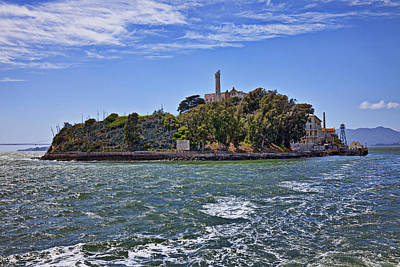 Alcatraz Photograph - Alcatraz Island San Francisco by Garry Gay