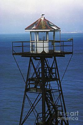 Alcatraz Photograph - Alcatraz Watch Tower by Paul W Faust -  Impressions of Light