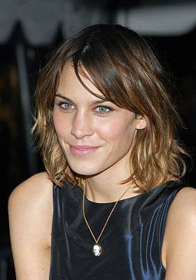 The Twilight Saga New Moon Premiere Photograph - Alexa Chung At Arrivals For Special by Everett