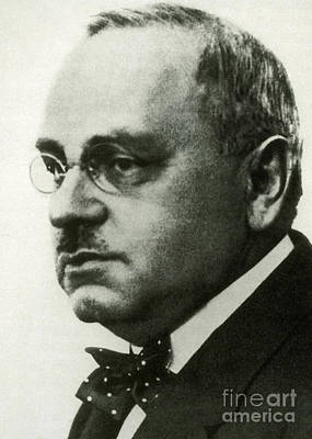 Alfred Adler, Austrian Psychologist Print by Science Source