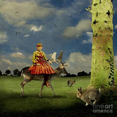 Arts In Wonderland Photograph - Alice by Martine Roch