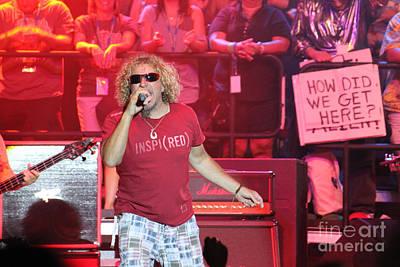 Van Halen Photograph - Alien Rock by Dennis Jones