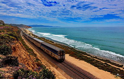 Nature Photograph - All Aboard For San Diego by Russ Harris