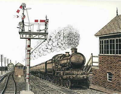 All Aboard Print by Mike OBrien