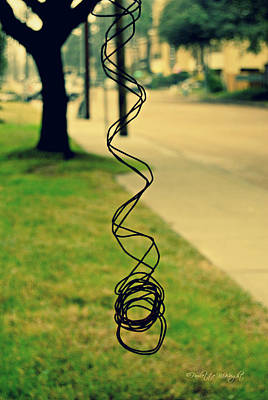 Abstract Photograph - All Tangled Up In You by Paulette B Wright