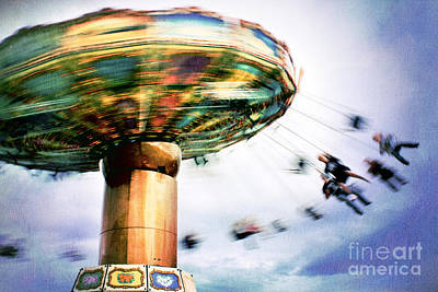 All The Fun Of The Fair Print by Catherine MacBride