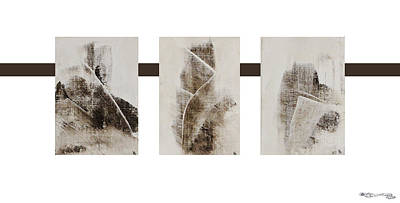 Xoanxo Digital Art - All Winter Abstract Composition  by Xoanxo Cespon