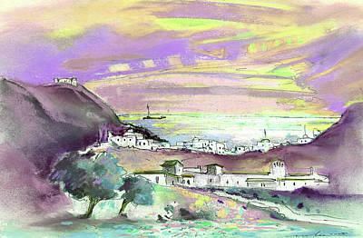 Almeria Region In Spain 04 Print by Miki De Goodaboom
