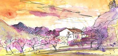 Altea Painting - Almond Trees In Spain 02 by Miki De Goodaboom