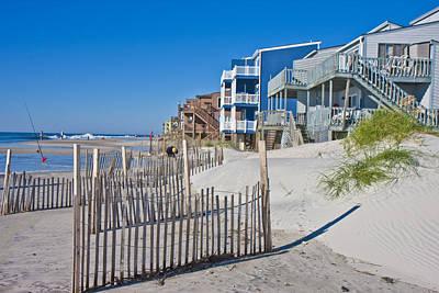 Sand Dunes Photograph - Along The Beach by Betsy Knapp