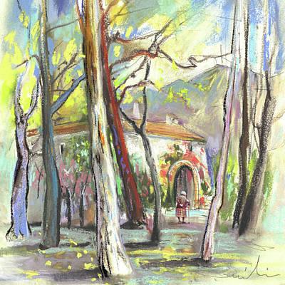 Altea Painting - Altea La Vieja In Spain 08 by Miki De Goodaboom