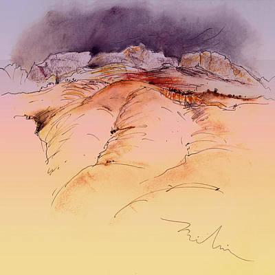 Altea Painting - Altea La Vieja In Spain 13 by Miki De Goodaboom
