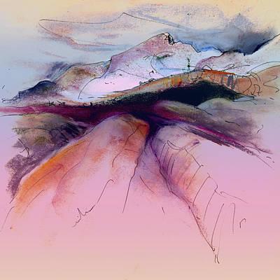 Altea Painting - Altea La Vieja In Spain 17 by Miki De Goodaboom