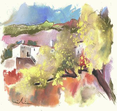 Altea Painting - Altea La Vieja In Spain 19 by Miki De Goodaboom