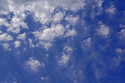 Alto Cumulus With Ice Print by Mick Anderson