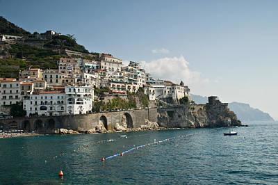 Watch Tower Photograph - Amalfi Point by Jim Chamberlain