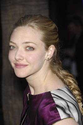 Amanda Seyfried At Arrivals For Los Print by Everett