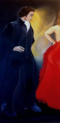 Dancer Painting - Amartillado by Natalie Trujillo