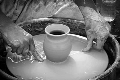 Amazing Hands Vii Print by Emanuel Tanjala