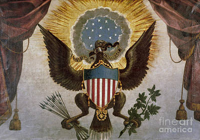 America - Great Seal Print by Granger