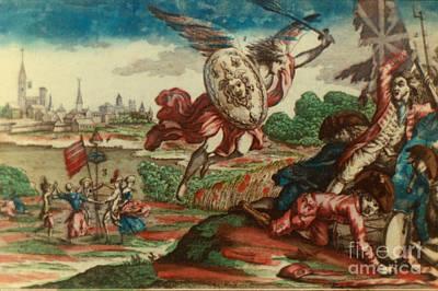 America:british Defeat 1785 Print by Granger