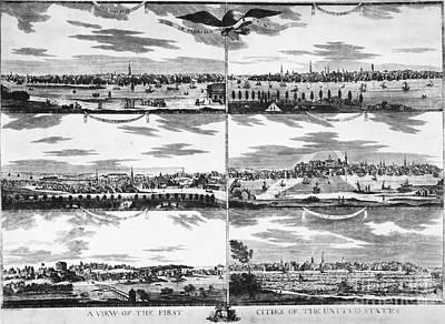 American Cities, C1810 Print by Granger