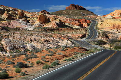 Valley Of Fire Photograph - American Roadtrip by Achim Thomae