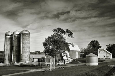 Finger Lakes Photograph - Amish Farmstead II by Steven Ainsworth