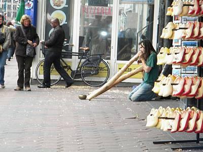 Amsterdam Street View Print by Manuela Constantin